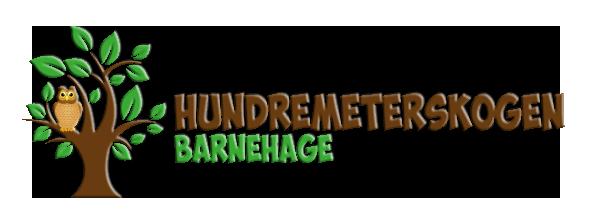 Logo for Hundremeterskogen Barnehage Gjøvik